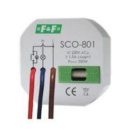 Ściemniacz oświetlenia F&F SCO-801 350W do puszki